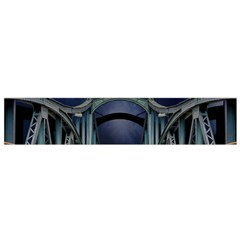 Bridge Mars Space Planet Small Flano Scarf by Sapixe
