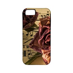 Sheet Music Manuscript Old Time Apple Iphone 5 Classic Hardshell Case (pc+silicone) by Sapixe