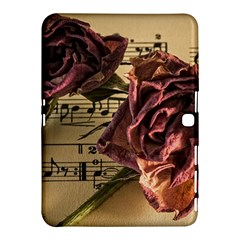 Sheet Music Manuscript Old Time Samsung Galaxy Tab 4 (10 1 ) Hardshell Case  by Sapixe