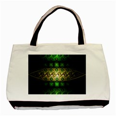 Fractal Art Digital Art Basic Tote Bag by Sapixe