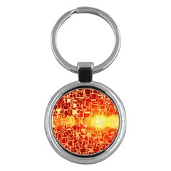 Board Conductors Circuits Key Chains (round)  by Sapixe