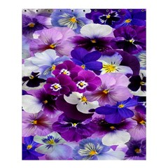 Graphic Background Pansy Easter Shower Curtain 60  X 72  (medium)  by Sapixe