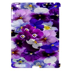Graphic Background Pansy Easter Apple Ipad 3/4 Hardshell Case (compatible With Smart Cover) by Sapixe