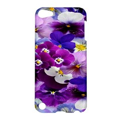 Graphic Background Pansy Easter Apple Ipod Touch 5 Hardshell Case by Sapixe