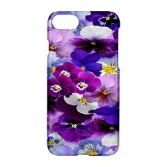 Graphic Background Pansy Easter Apple Iphone 7 Hardshell Case by Sapixe