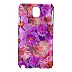 Flowers Blossom Bloom Nature Color Samsung Galaxy Note 3 N9005 Hardshell Case by Sapixe