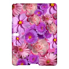 Flowers Blossom Bloom Nature Color Samsung Galaxy Tab S (10 5 ) Hardshell Case  by Sapixe
