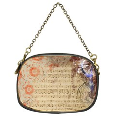 Art Collage Design Colorful Color Chain Purses (one Side)