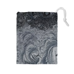 Abstract Art Decoration Design Drawstring Pouches (large)