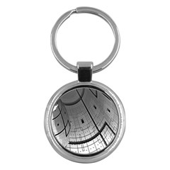 Graphic Design Background Key Chains (round)  by Sapixe