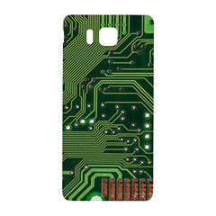 Board Computer Chip Data Processing Samsung Galaxy Alpha Hardshell Back Case by Sapixe