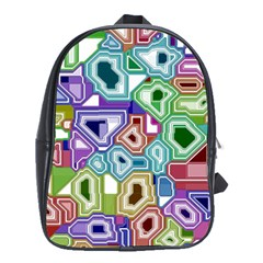 Board Interfaces Digital Global School Bag (xl) by Sapixe