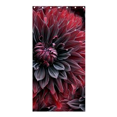 Flower Fractals Pattern Design Creative Shower Curtain 36  X 72  (stall)  by Sapixe