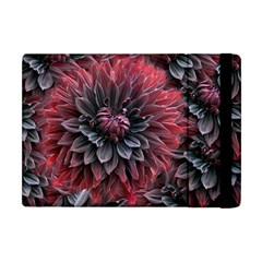 Flower Fractals Pattern Design Creative Apple Ipad Mini Flip Case by Sapixe