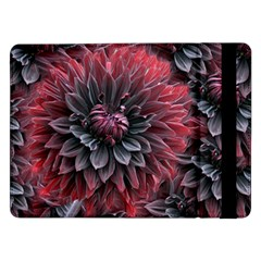 Flower Fractals Pattern Design Creative Samsung Galaxy Tab Pro 12 2  Flip Case