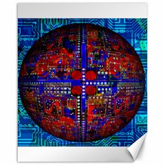 Board Interfaces Digital Global Canvas 16  X 20   by Sapixe