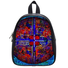 Board Interfaces Digital Global School Bag (small) by Sapixe
