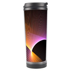 Star Graphic Rays Movement Pattern Travel Tumbler