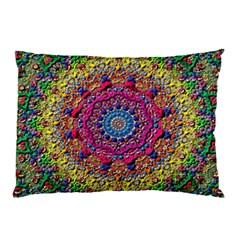 Background Fractals Surreal Design Pillow Case by Sapixe