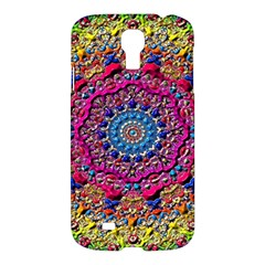 Background Fractals Surreal Design Samsung Galaxy S4 I9500/i9505 Hardshell Case by Sapixe