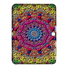 Background Fractals Surreal Design Samsung Galaxy Tab 4 (10 1 ) Hardshell Case  by Sapixe