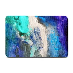 Blue Sensations Small Doormat  by Art2City