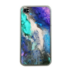 Blue Sensations Apple Iphone 4 Case (clear) by Art2City