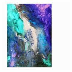 Blue Sensations Large Garden Flag (two Sides) by Art2City