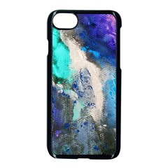 Blue Sensations Apple Iphone 7 Seamless Case (black) by Art2City
