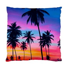 Sunset Palms Standard Cushion Case (two Sides) by goljakoff
