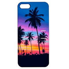 Sunset Palms Apple Iphone 5 Hardshell Case With Stand by goljakoff