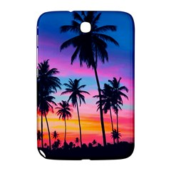 Sunset Palms Samsung Galaxy Note 8 0 N5100 Hardshell Case  by goljakoff