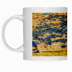 The Framework Drawing Color Texture White Mugs by Sapixe