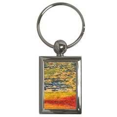 The Framework Drawing Color Texture Key Chains (rectangle)