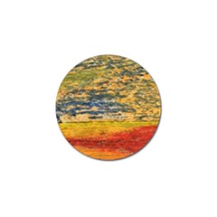 The Framework Drawing Color Texture Golf Ball Marker (4 Pack)