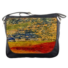 The Framework Drawing Color Texture Messenger Bags by Sapixe