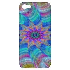 Fractal Curve Decor Twist Twirl Apple Iphone 5 Hardshell Case by Sapixe