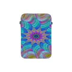 Fractal Curve Decor Twist Twirl Apple Ipad Mini Protective Soft Cases by Sapixe