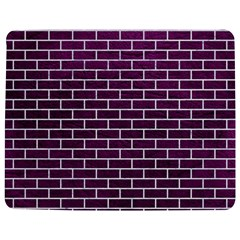 Brick1 White Marble & Purple Leather Jigsaw Puzzle Photo Stand (rectangular) by trendistuff