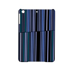 Shades Of Blue Stripes Striped Pattern Ipad Mini 2 Hardshell Cases by yoursparklingshop