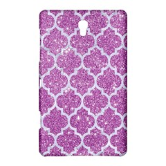 Tile1 White Marble & Purple Glitter Samsung Galaxy Tab S (8 4 ) Hardshell Case  by trendistuff