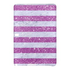 Stripes2white Marble & Purple Glitter Samsung Galaxy Tab Pro 12 2 Hardshell Case by trendistuff