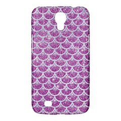 Scales3 White Marble & Purple Glitter Samsung Galaxy Mega 6 3  I9200 Hardshell Case by trendistuff