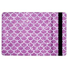 Scales1 White Marble & Purple Glitter Ipad Air 2 Flip by trendistuff