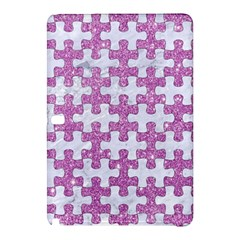 Puzzle1 White Marble & Purple Glitter Samsung Galaxy Tab Pro 12 2 Hardshell Case by trendistuff