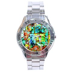 Birds   Caged And Free Stainless Steel Analogue Watch by bestdesignintheworld