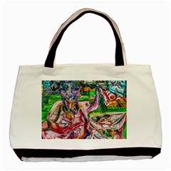 Budha Denied The Shine Of The World Basic Tote Bag (two Sides) by bestdesignintheworld