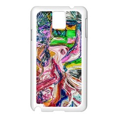Budha Denied The Shine Of The World Samsung Galaxy Note 3 N9005 Case (white) by bestdesignintheworld