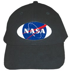 Nasa Logo Black Cap