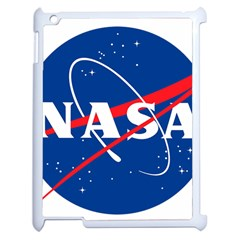 Nasa Logo Apple Ipad 2 Case (white) by Samandel